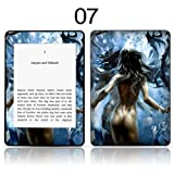 TaylorHe Vinyl Skin Decal for Amazon Kindle Paperwhite Ultra-slim protection for Kindle MADE IN BRITAIN FREE UK DELIVERY Design of Blue Fantasy Figure