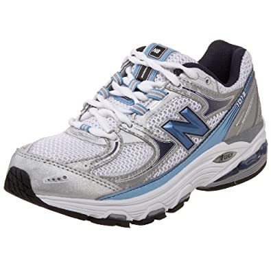 New Balance Women's Wr1012 Nbx Motion Control Running Shoe,Silver/Blue,6.5 B