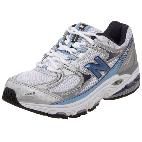 New Balance Women's Wr1012 Nbx Motion Control Running Shoe,Silver/Blue,9.5 B