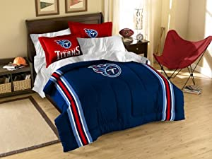 NFL Tennessee Titans Full Twin Comforter Set by Northwest