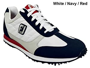FootJoy 2013 FJ Street Athletic Golf Shoes White-Navy-Red 10.5 Wide 56446