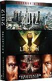 echange, troc Coffret Blockbuster - 2012 + Terminator Renaissance + Légion, l'armée des anges