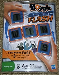 Electronic Boggle Exclusive Speed Flash Game