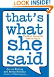 That's What She Said: The Most Versat...