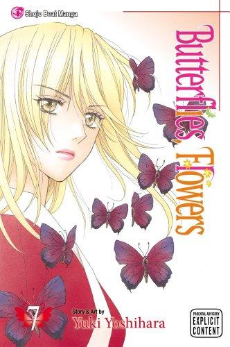 Butterflies, Flowers 7