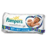 Pampers Sensitive 56 Baby Wipes