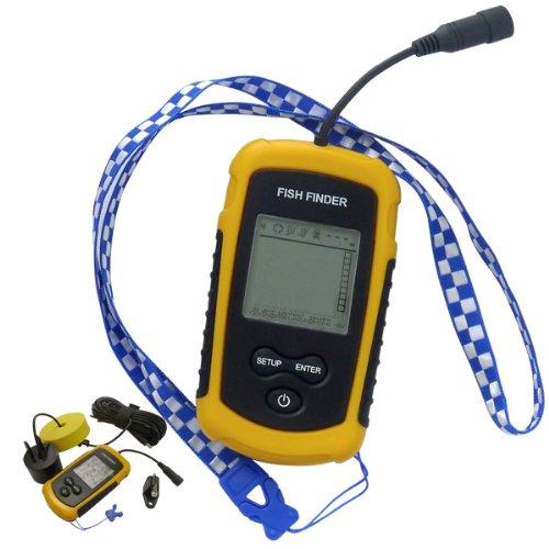 100m Portable Sonar Sensor Fish Finder Alarm Tl88 E7