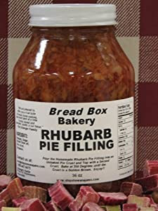 Rhubarb Pie Filing, 36 oz
