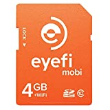 1-year Eyefi Cloud Service With Free Eyefi Mobi 4GB SDHC Class 10 Wi-Fi Memory Card With (MOBI-4-FF1Y)