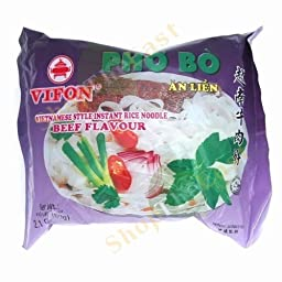 12 Bags of Vifon Beef Flavor (Pho Bo)