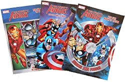 3-Pack Marvel The Avengers Heroes Coloring Book Set
