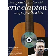 Play Acoustic Guitar With Eric Clapton (Book & CD)