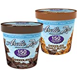Arctic Zero Mix and Match 150 Calories Per Pint Combo Pack. Chocolate Peanut Butter and Chocolate Frozen Desserts (3 of Each Flavor) Pack of 6 ~ Arctic Zero