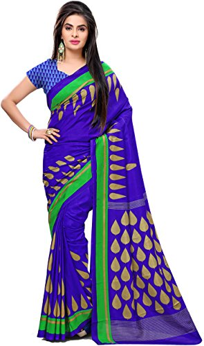 Samskruti Sarees Women's Abstract design Art Silk Saree(3233)