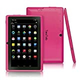 TeaTab® Pro 7'' Google Android 4.4 KitKat Tablet PC, 1024X600 Display, Google Play Pre-loaded, 3D-Game Supported (Pink)