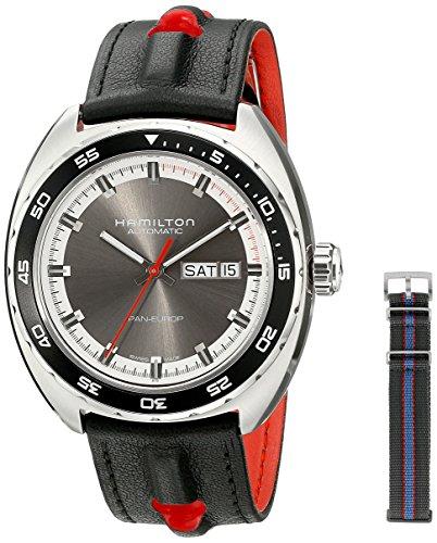 Hamilton - Reloj hombre, pan europ h35415781, color gris