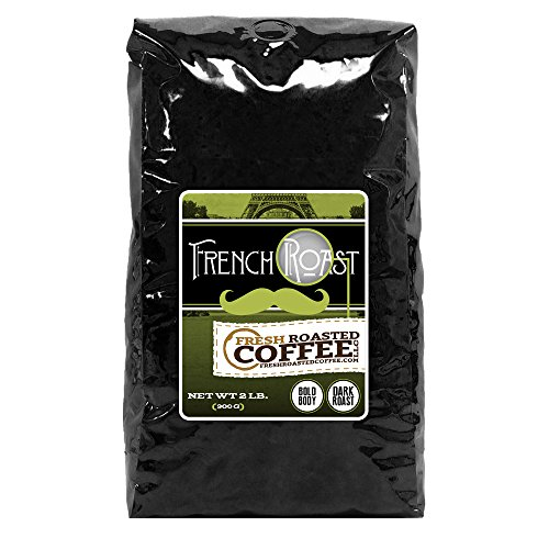 French Roast Coffee, Whole Bean, Fresh Roasted Coffee LLC. (2 lb.) (Fresh Roasted French Roast compare prices)