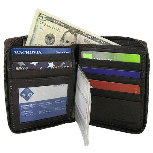 Card Holder Brown Wallet