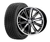 サマータイヤ・ホイール 1本セット 18インチ お勧め輸入タイヤ 215/40R18 + ANHELO CORAZON(アネーロコラソン)