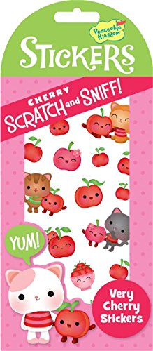 Peaceable Kingdom Scratch and Sniff Very Cherry Scented Sticker Pack