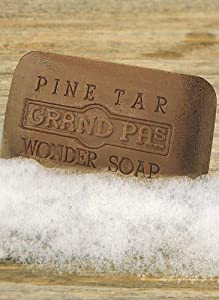 Pine Tar Bath Products - Bath Size Soap Bar