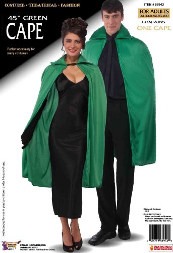 Forum St. Patrick's Day Costume Cape, Green, One Size