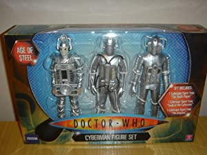 DOCTOR WHO CLASSIC SERIES CYBERMAN FIGURE SET
