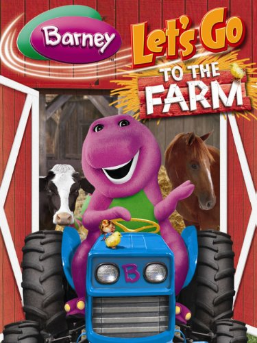 Amazon.com: Barney: Let's Go To The Farm: Lionsgate
