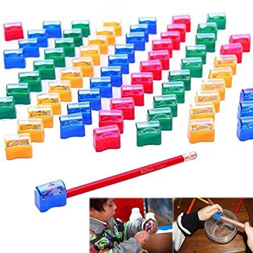Dazzling Toys Plastic Pencil Sharpener Assortment -72 Pack - 1