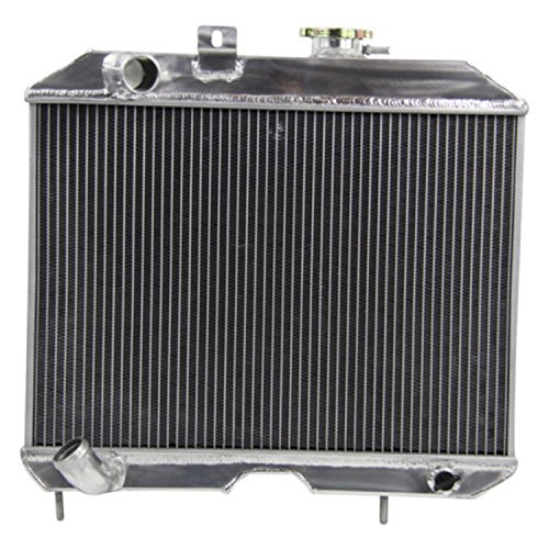 ALLOYWORKS 3 Row Willys Race Aluminum Radiator for Jeep Willy`s MB,1941-1952 Ford GPW JP