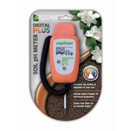 Luster Leaf 1847 Rapitest Digital PLUS Soil pH Meter