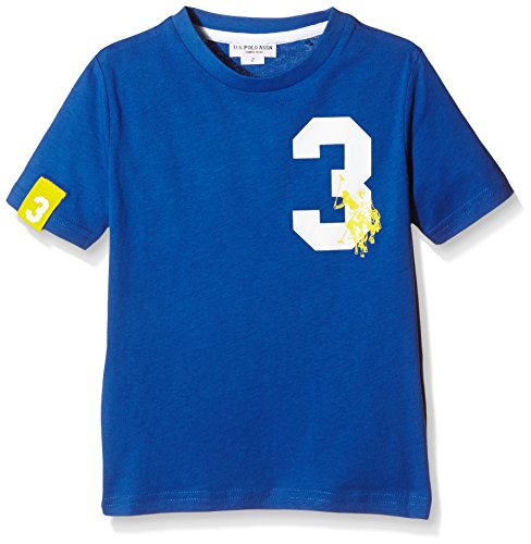 U.S. Polo Assn. - T-Shirt Maniche Corte Fab Colors Ss, Unisex Bambino, Royal (337), 2