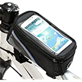 Weanas® Cycling Bike Bicycle Handlebar Frame Pannier Front Top Tube Bag Pack Rack X Large Waterproof for Iphone 6 6 Plus Samsung 4.8 5.5 Inch Mobile Cell Phone