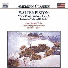 Piston: Violin Concertos Nos. 1 and 2