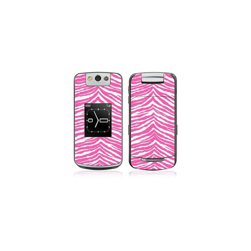 Pink Zebra Decorative Skin Cover Decal Sticker for
