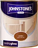 Johnstones No Ordinary Paint One Coat Non Drip Oil Based Gloss Conker 750ml