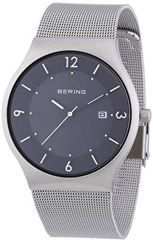 Bering Time Men's Watch XL Analogue Quartz Stainless Steel Solar 14440-002
