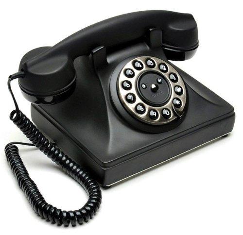 Sitel 72280t retro 39 telephone telefono fisso design vintage retro nero opaco telefoni - Telefono fisso design ...