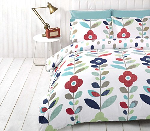 Red And Blue Reversible Comforter