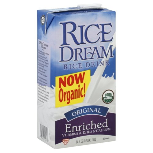 Rice Dream Organic Rice Drink, Original, 64 Ounce (Pack Of 8)