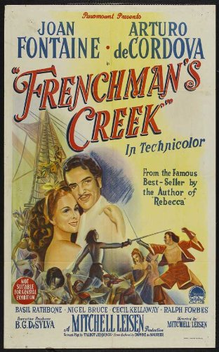 Frenchman's Creek Framed Poster Movie Australian 27 x 40 Inches - 69cm x 102cm