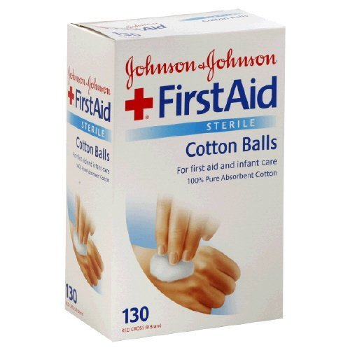 Johnson & Johnson Cotton Balls for First Aid and Infant ...