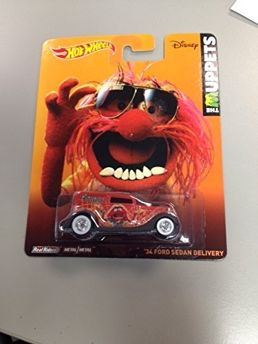 Hot wheels the muppets '34 ford sedan delivery real riders