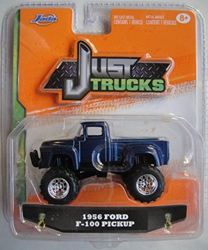 JADA JUST TRUCK 2015 WAVE 5 BLUE 1956 FORD F-100 PICKUP TRUCK