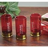 Shot Gun Shell Shot Glasses: Gun Lovers Classic Drinkware (Set of 4)