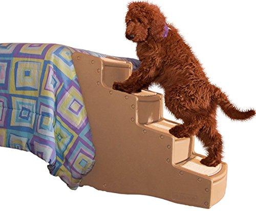 Artikelbild: Pet Gear Treppe für Tiere, 4 Stufen, groß, Braun-Beige