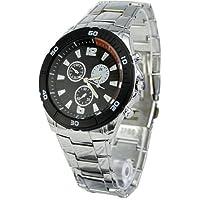 WLM New Fashion Men's Stainless Steel Quartz Wrist Watch