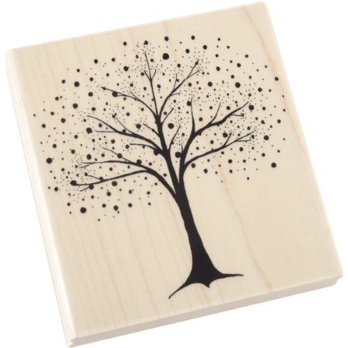 Penny Black Penny Mounted Rubber Stamp, 3.5 by 3.5-Inch, Fantasy