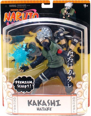 Picture of Mattel Naruto 8 inch Kakashi Hatake Premium Sculpt Action Figure (B000LOHYF4) (Naruto Action Figures)