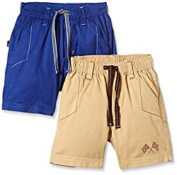 Seals Boys' Shorts (AM8105_PACK OF 2_MULTI_2)